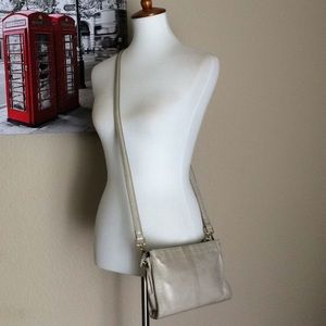 HOBO Original Leather Shoulder Bag